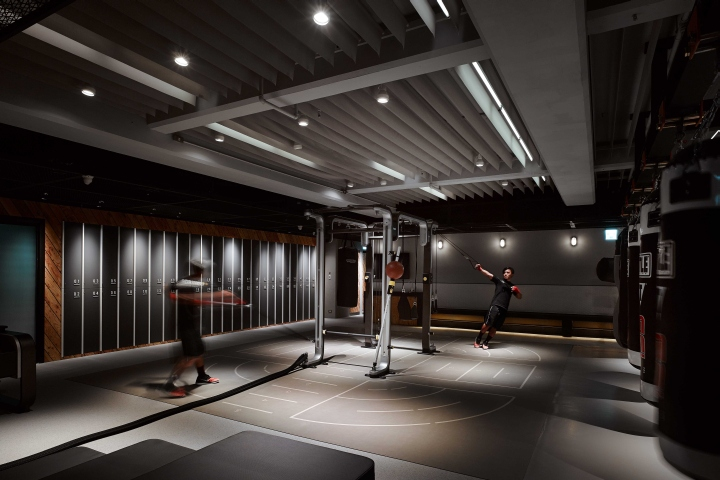 Boxing wellness center by mw design taipei taiwan for Boxing bedroom ideas