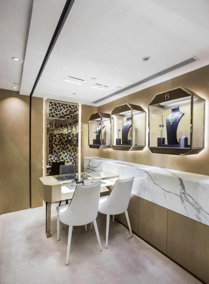 Butani jewellery boutique by stefano tordiglione design for Design boutique hotel hong kong