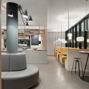 bluetrain restaurant by studio equator melbourne. Black Bedroom Furniture Sets. Home Design Ideas