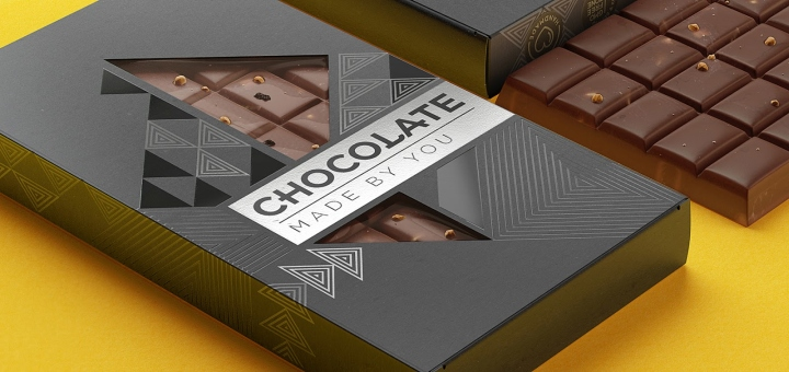 187 Chocolate Made By You Packaging By Bimbom