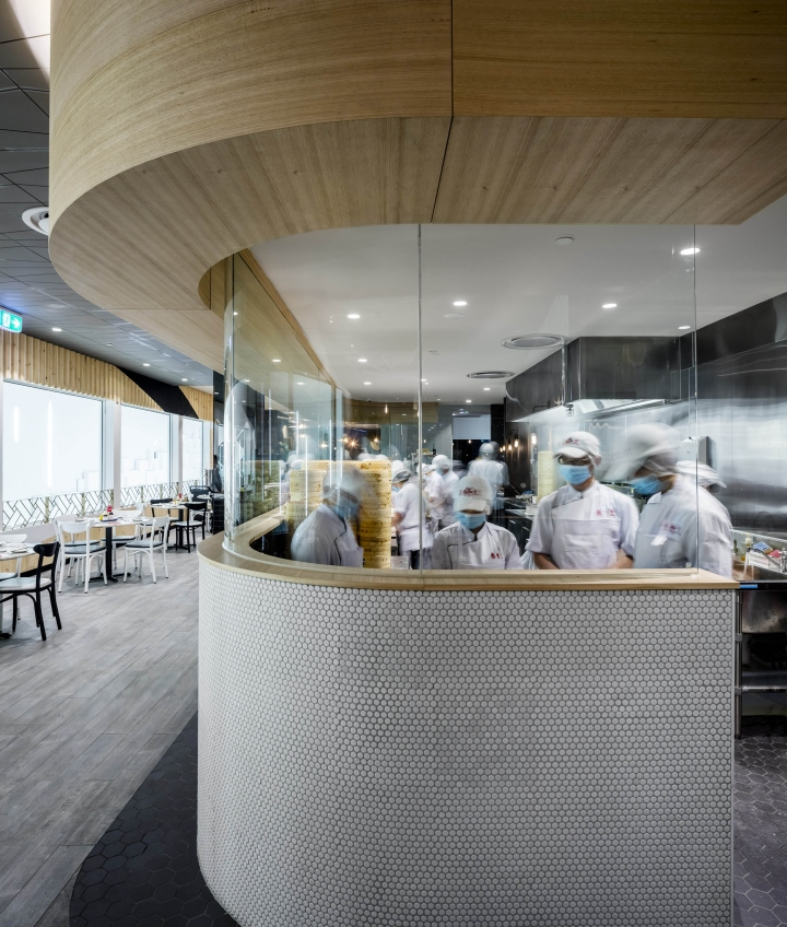 Fungs Kitchen: Din Tai Fung Restaurant By Design Clarity, Melbourne