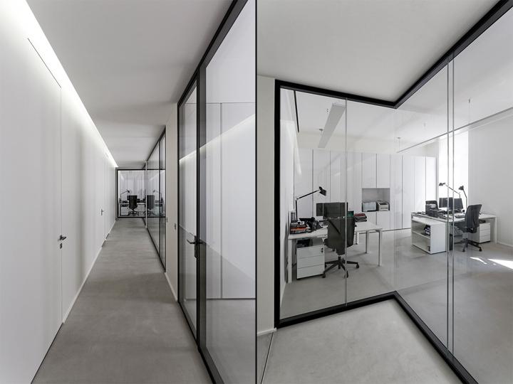 dior homme office by antonio virga architecte paris france retail design blog. Black Bedroom Furniture Sets. Home Design Ideas