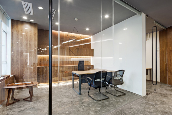 187 Elle Office By Feeling Design Guangzhou China