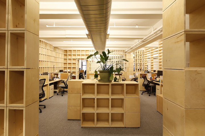 Echoing green office by taylor and miller architecture and for Office design new york
