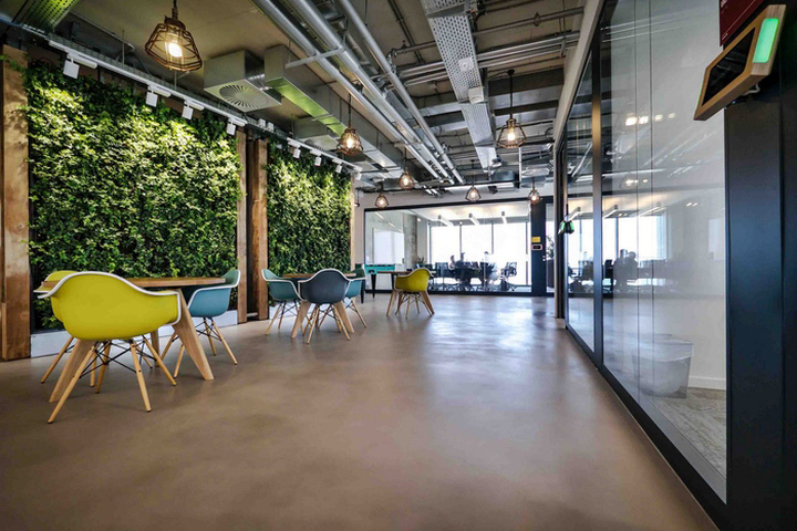 Facebook offices by setter architects tel aviv israel for Design hotel tel aviv