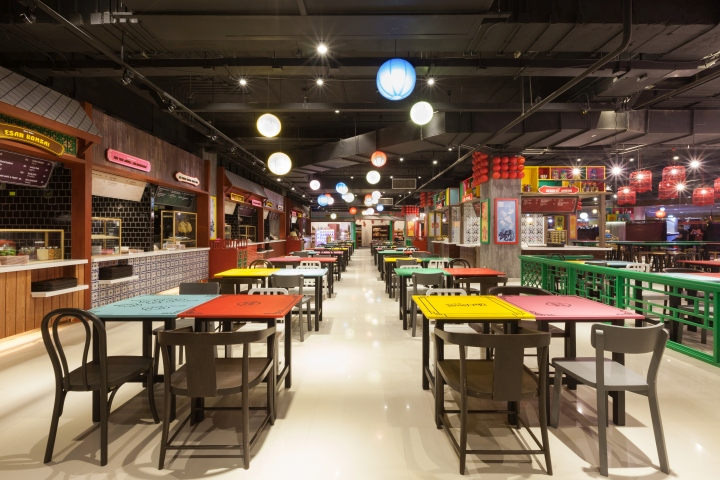 Fast food retail design