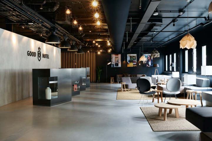 Retail design blog good hotel by remko verhaagen sikko for Hotel design blog