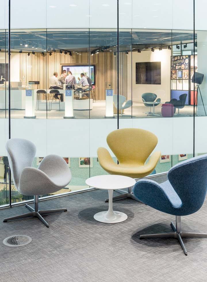 Hammerson Headquarters Offices By EDGE London UK August 20th 2015 Retail Design Blog
