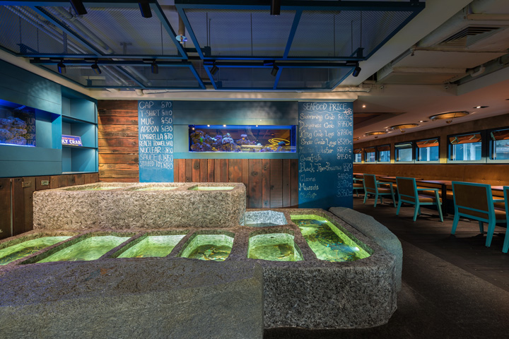 187 Holy Crab Restaurant By In Between Design Office Hong Kong