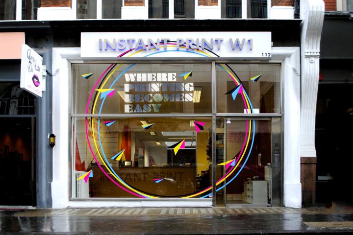 187 Instant Print W1 Store By Sfd London Uk