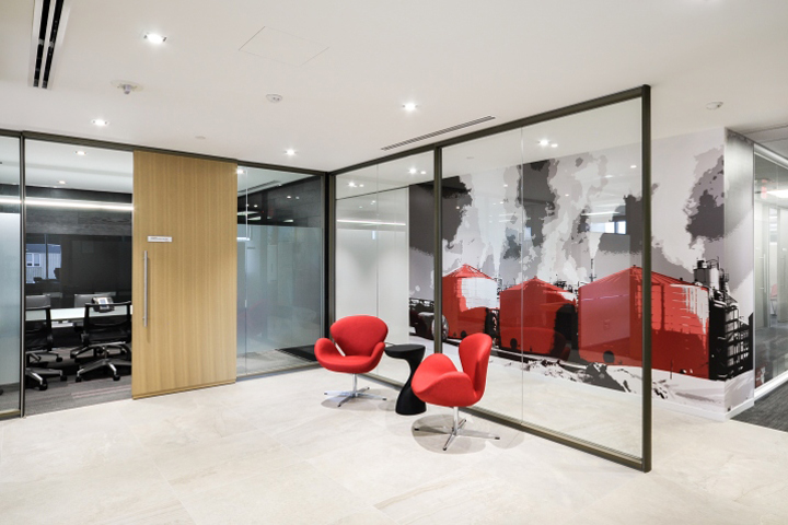 Japan canada oil sands retail design blog for Asian office decor