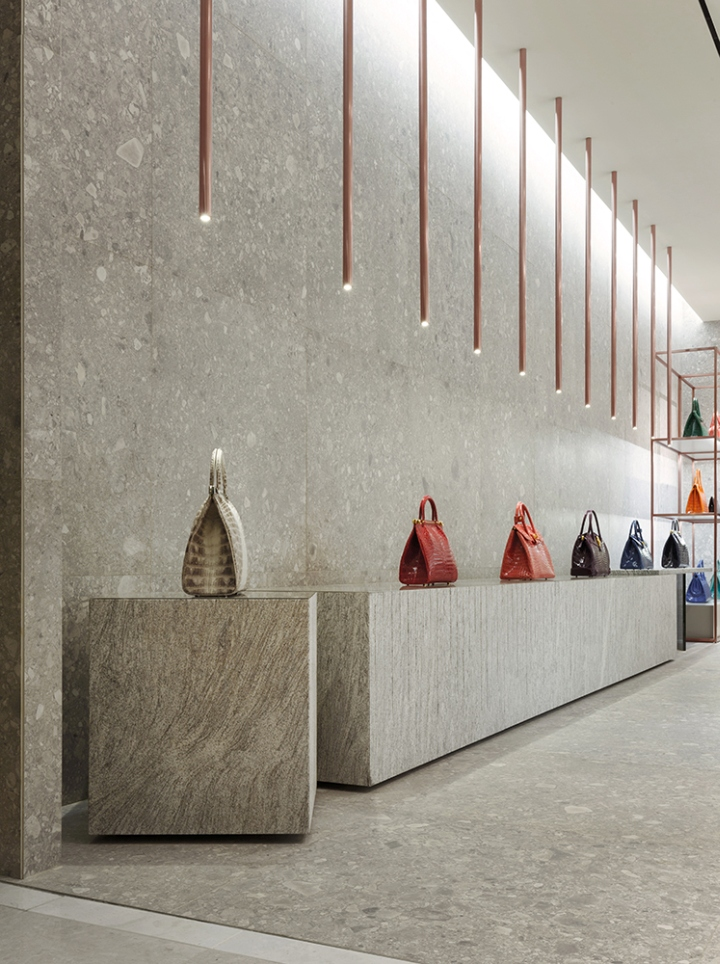 Kwanpen store by betwin space design busan south korea for Material design space
