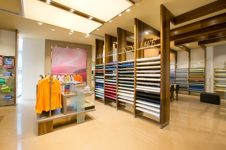 Fabric store retail design blog for Fabric sellers