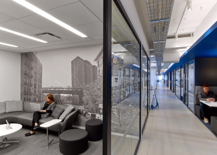 linkedin offices by interior architects new york city ForOffice Interior Design Nyc