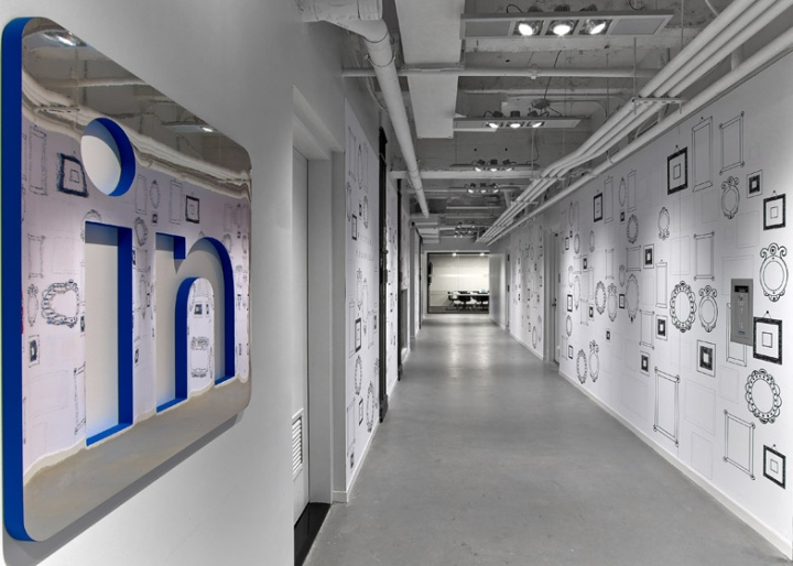 LinkedIn Offices By Interior Architects New York City