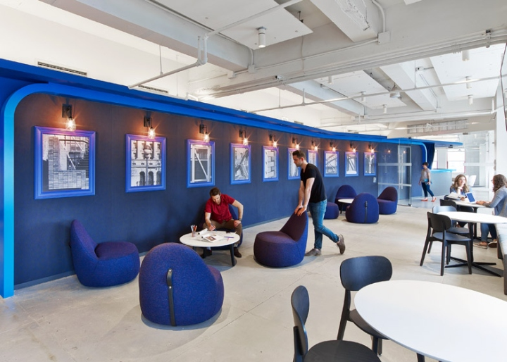 Linkedin offices by interior architects new york city for Office design new york