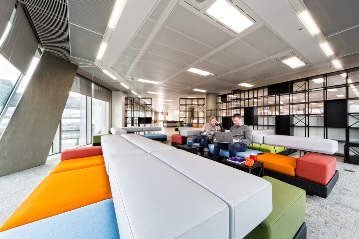 Oktra Has Designed The New Offices Of Travel Guide Publisher Lonely Planet Located In London England Have Taken Space One Londons