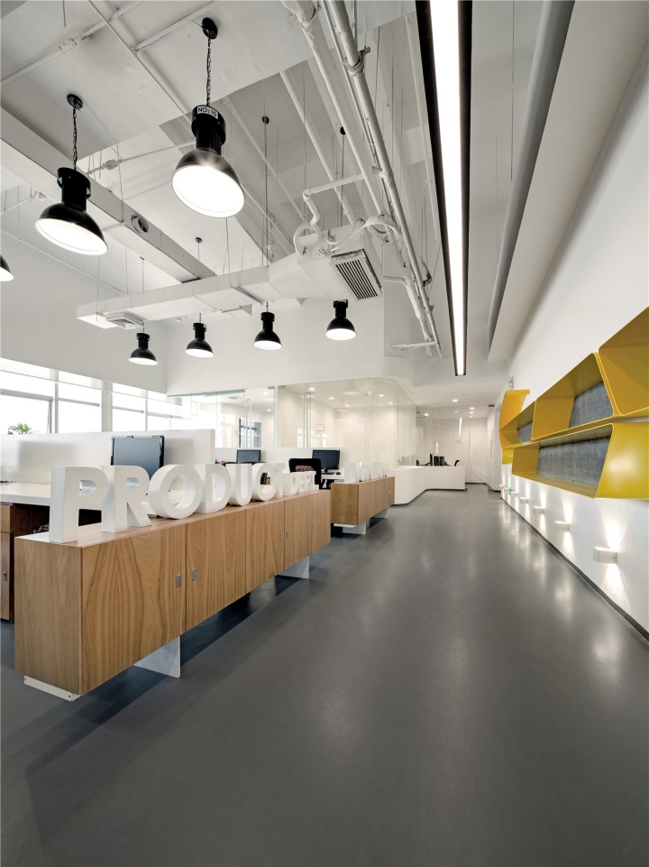 Satchi office by feeling design guangzhou china for Commercial space design
