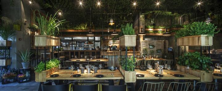 Segev Kitchen Garden Restaurant by Studio Yaron Tal Hod HaSharon