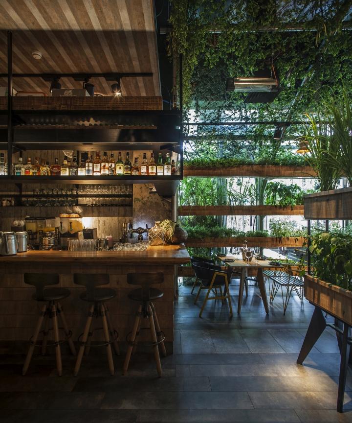 Walled Kitchen Garden Design: » Segev Kitchen Garden Restaurant By Studio Yaron Tal, Hod