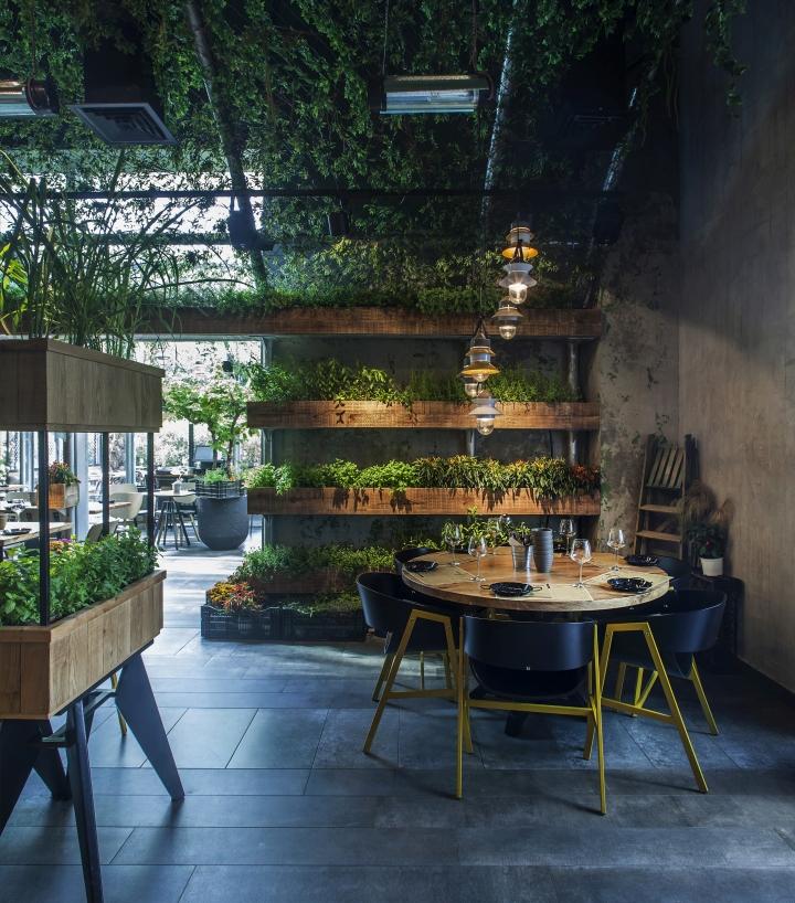 » Segev Kitchen Garden Restaurant by Studio Yaron Tal, Hod ...