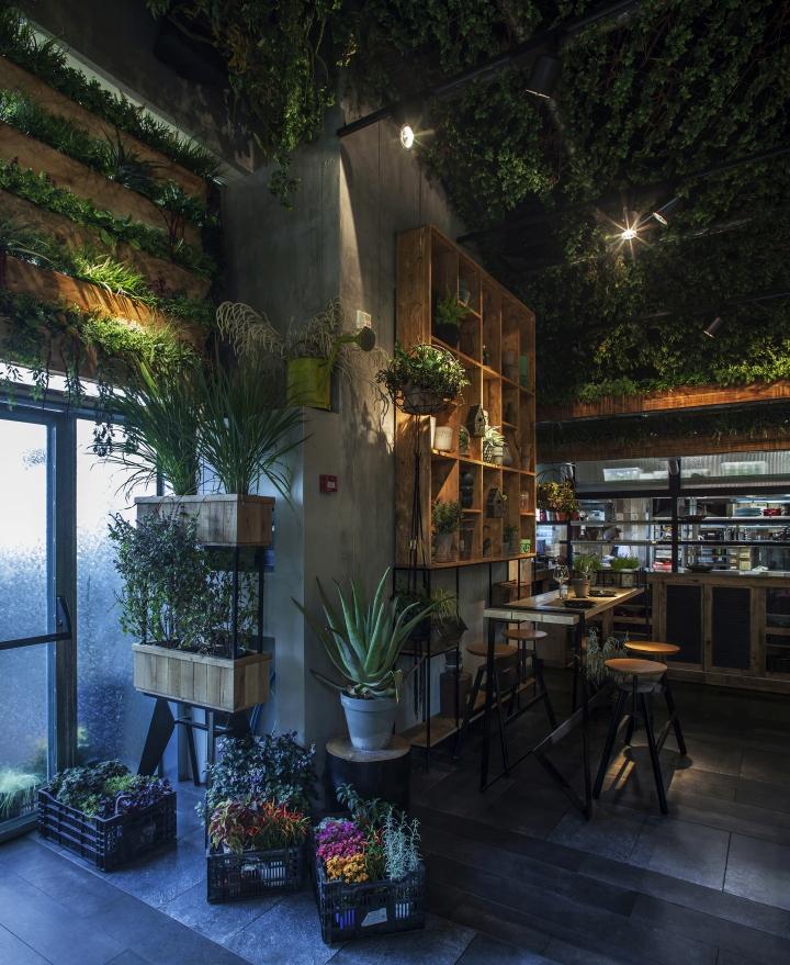 187 Segev Kitchen Garden Restaurant By Studio Yaron Tal Hod