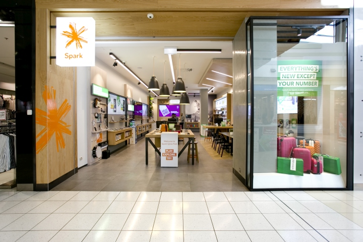 We have completed the design and fit out of the first two new look spark stores first to open was sylvia park and the second in albany mall