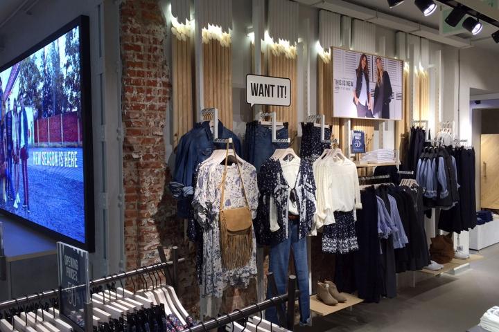 Urban fashion clothing stores