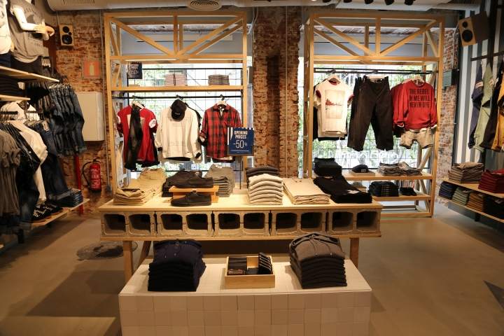 Urban wear clothing stores