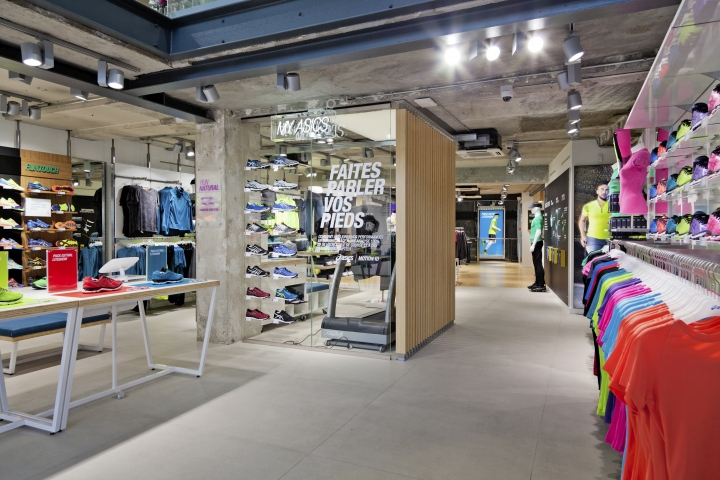 The HOME of ASICS Flagship Store by Wests Design, Paris – France ...