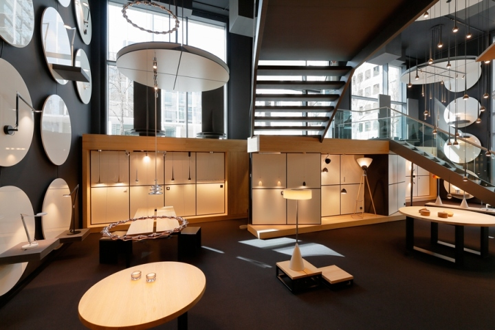 luminaire tobias grau flagship store at turmcar e shopping centre frankfurt germany retail. Black Bedroom Furniture Sets. Home Design Ideas