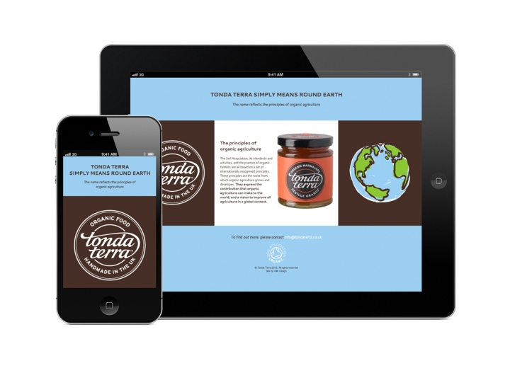 Tonda Terra Organic Food Packaging By Hills Design