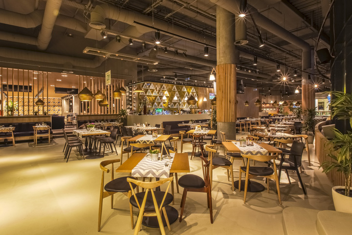 Trickshot Restaurant By Picktwo Studio Bucharest Romania