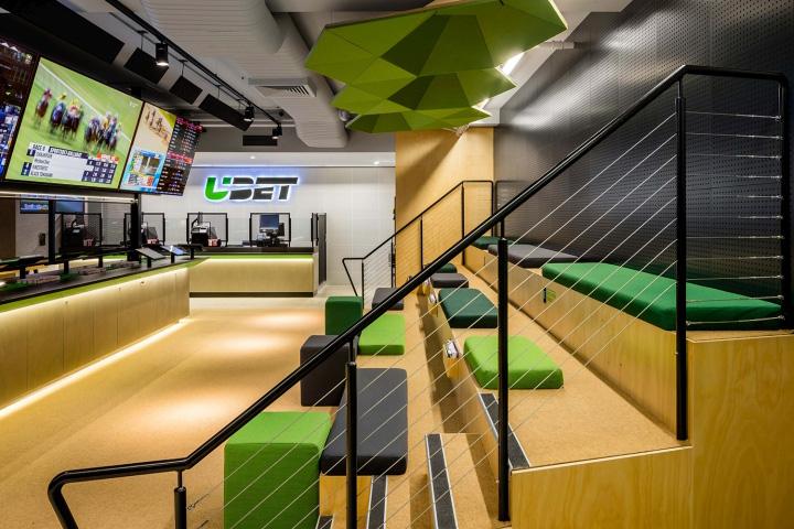 Ubet store by hulsbosch mccartney design brisbane for Interior design agency brisbane