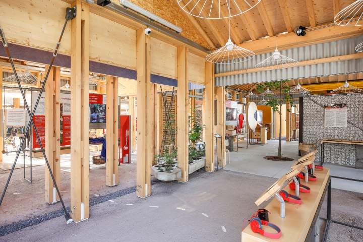 villaggio save the children pavilion by argot ou la maison. Black Bedroom Furniture Sets. Home Design Ideas
