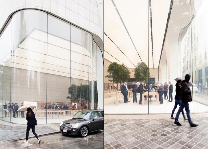 Apple Store s obrovskými zaoblenými sklenenými panelmi! - svetapple.sk