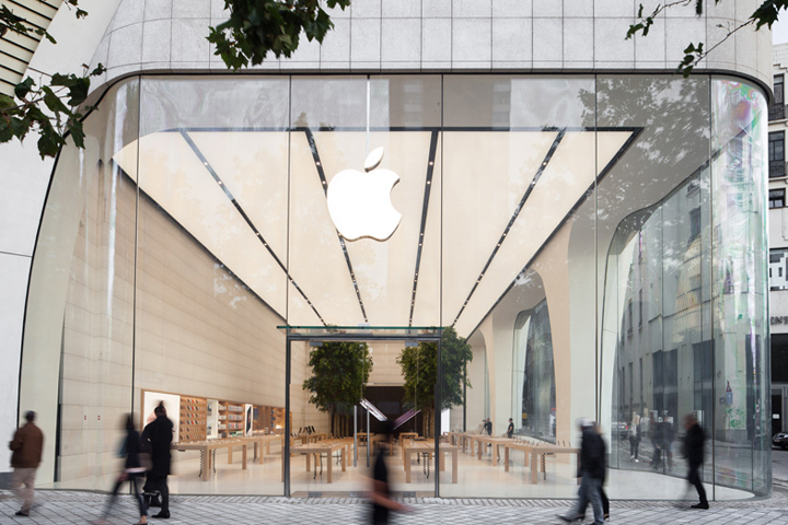 Apple store by foster partners brussels belgium retail design apple store by foster partners brussels belgium planetlyrics Gallery