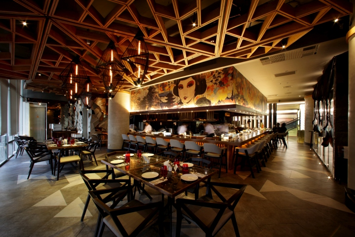 Bam senju restaurant by metaphor interior at plaza