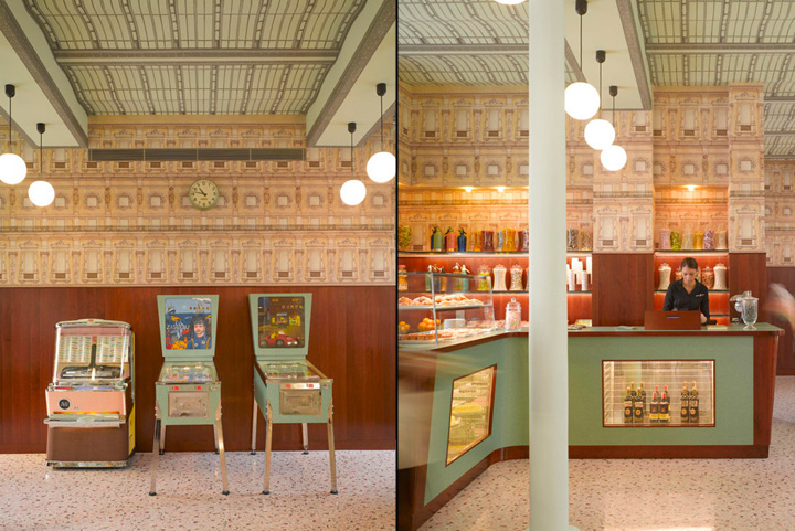 187 Bar Luce By Wes Anderson At Fondazione Prada Milan Italy