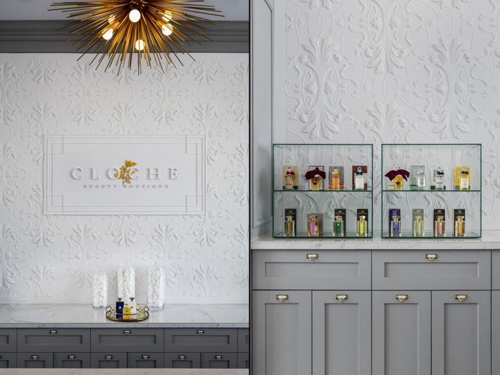 Cloche Beauty Boutique By Vizwerks Portland Oregon September 22nd 2015 Retail Design Blog