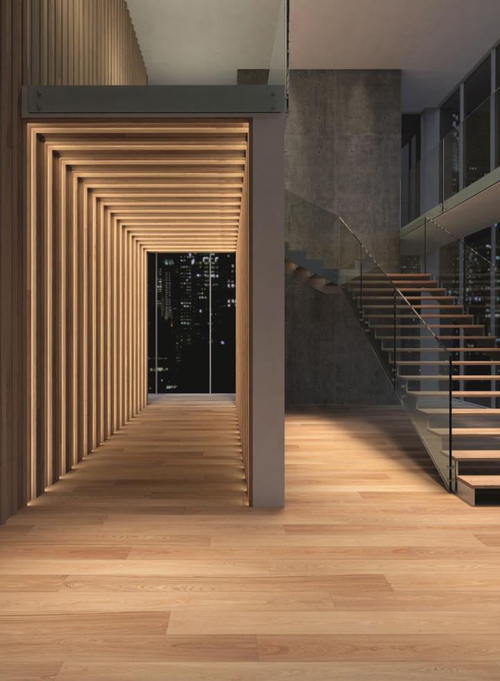 Corridor Design: » ContinuumFloor By Massimo Broglio For Corà Parquet