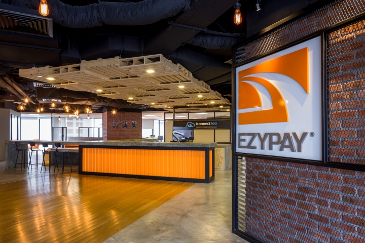 Ezypay office by ong ong kuala lumpur malaysia retail for Office design malaysia