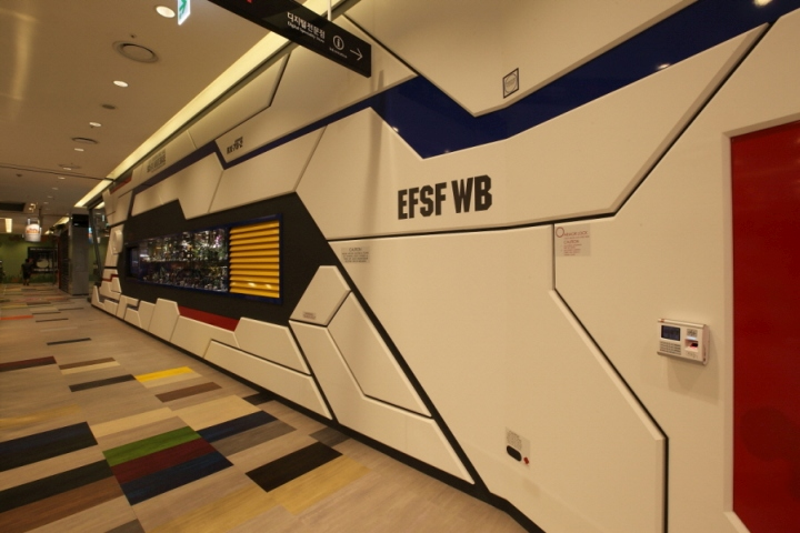 187 Gundam Base Yongsan Store By Designad4m Seoul South Korea