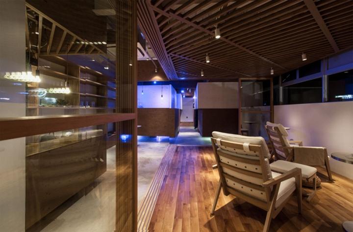 haspali spa by three ball cascade okayama japan. Black Bedroom Furniture Sets. Home Design Ideas