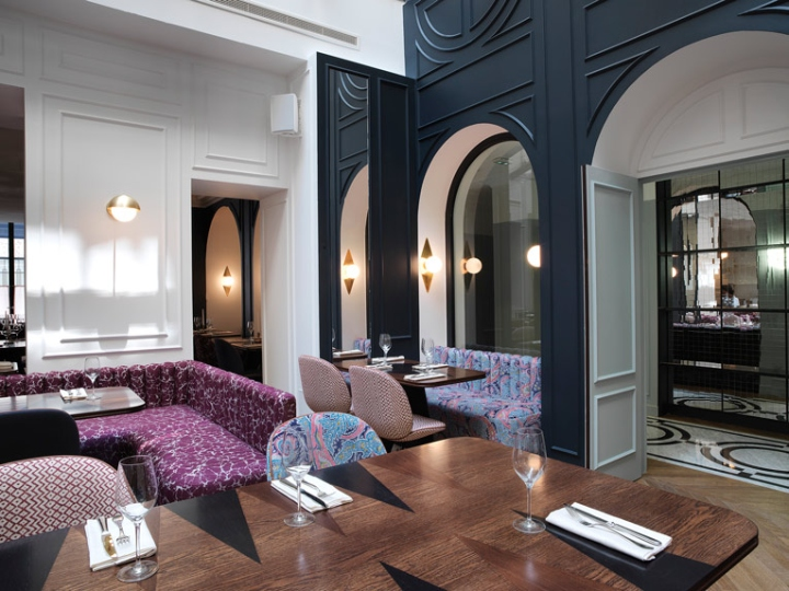 h tel bachaumont paris france retail design blog. Black Bedroom Furniture Sets. Home Design Ideas