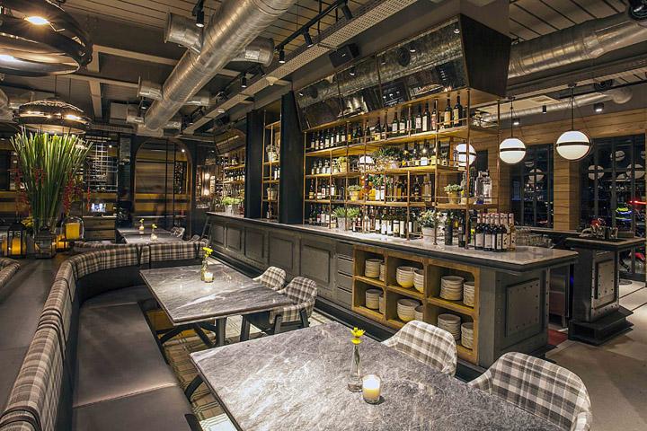 Hurricane s grill restaurant by metaphor interior for Design hotel jakarta