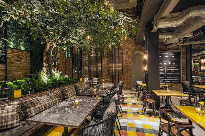 Hurricane S Grill Restaurant By Metaphor Interior Jakarta Indonesia Retail Design Blog