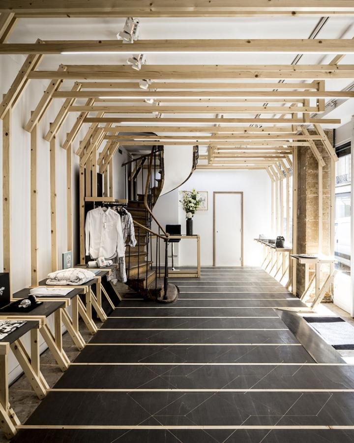 la boutique des bains by diplomates paris france retail design blog. Black Bedroom Furniture Sets. Home Design Ideas