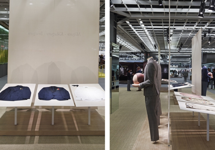Exhibition Stand Design Milton Keynes : Lardini stand by meregalli merlo architetti associati for