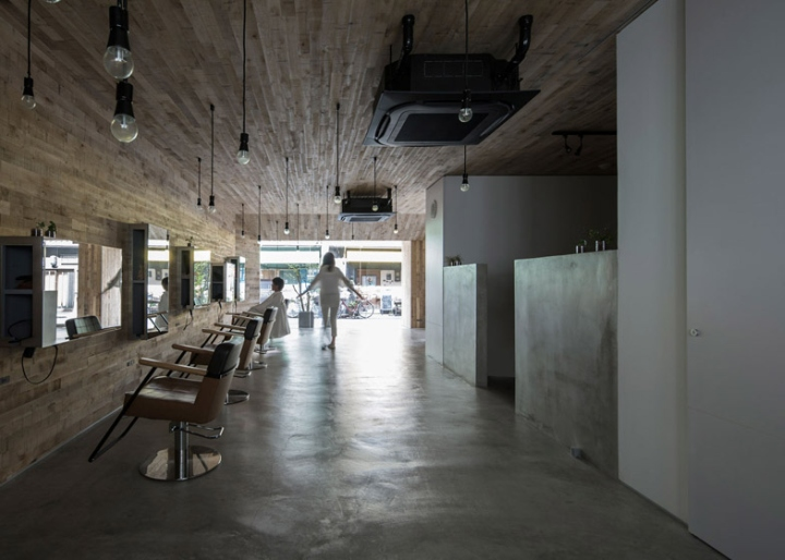 office da architects. Mook Salon By Okuwada Architects Office, Osaka \u2013 Japan Office Da